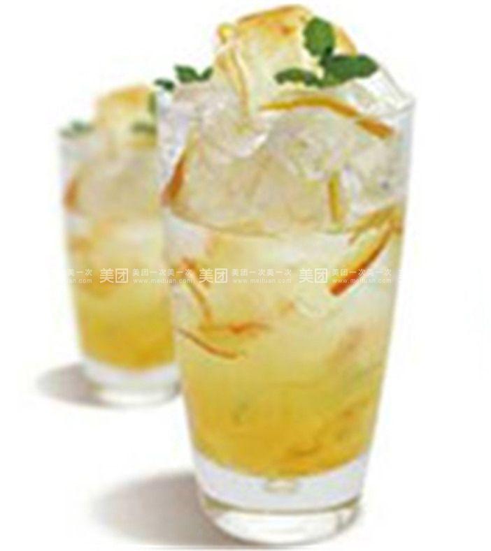 黄金柚子茉莉茶图片