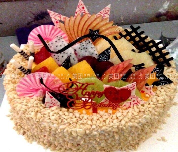 8寸欧式蛋糕图片