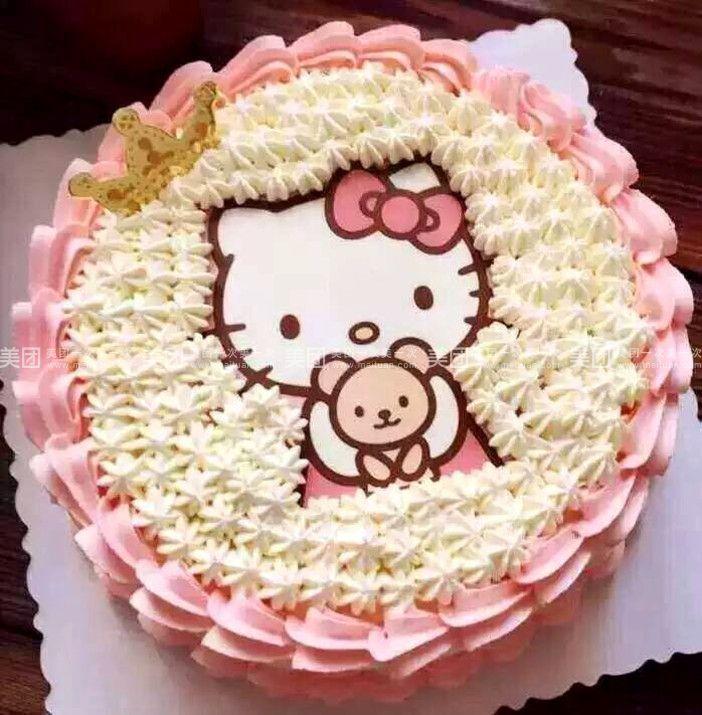 hellokitty卡通蛋糕  商家介绍   新烘焙蛋糕店    造型精致可爱