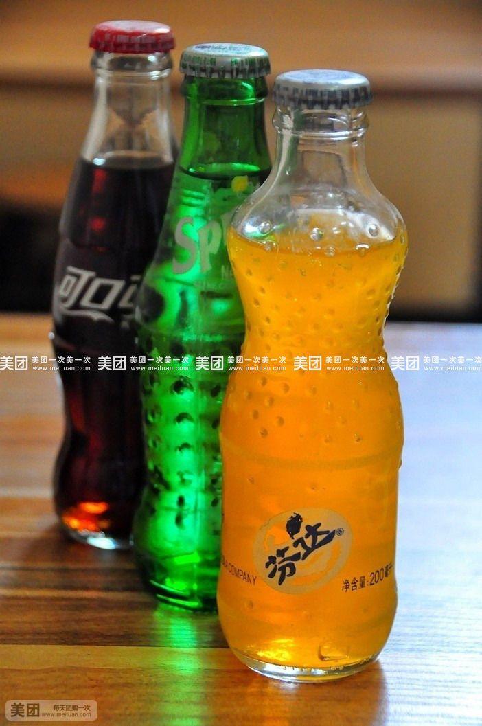 雪碧(玻璃瓶)/可乐(玻璃瓶)/汤