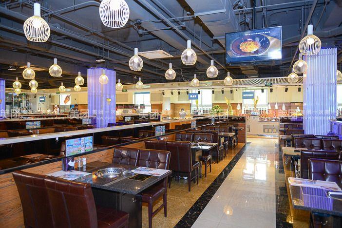 狂食天堂海鲜烧烤火锅自助店位于石景山游乐园西门往南一百米!图片