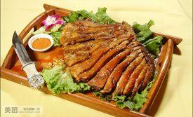 价值558元的西北清真餐厅美味8人餐,特色烤羊腿