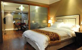 仅售388元!价值568元的套房入住1晚,可连续入住,免费WiFi。