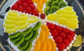 套餐 水果蛋糕 圆形/大拇指寿桃精品屋...
