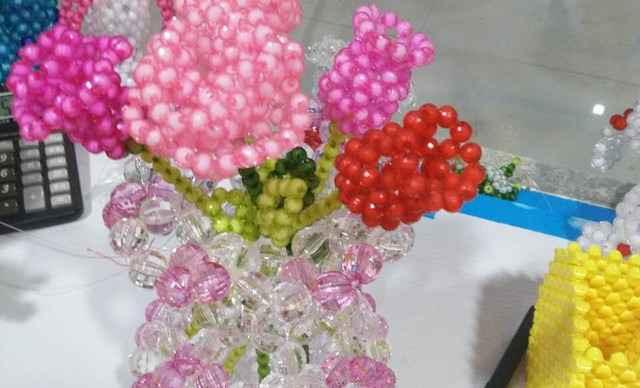 【南郊区】穿珠手工DIY玫瑰花 8厘1个-穿珠手工DIY团购 美团网图片