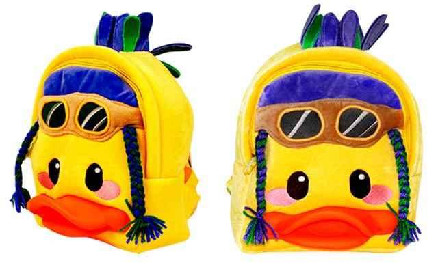 超能太阳鸭儿童书包