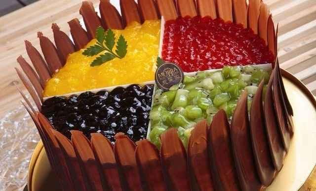 9750人评价 【2店通用】滋美特蛋糕蛋糕2选1,约12英寸,圆形/正方形 68