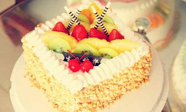 【滨城区】天天蛋糕方形水果1个