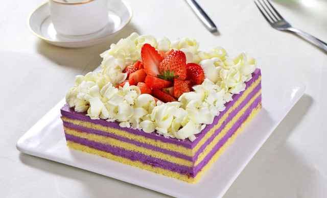 蛋糕3选1,约1.5磅,正方形