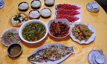 东方红文化主题农家餐厅-美团