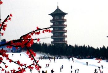 青云山滑雪场-美团