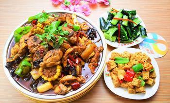 乡村大盘鸡(商城路旗舰店)-美团