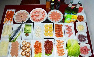 韩中阁无限量自助烤肉-美团