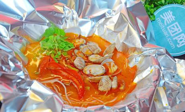 我爱花甲海鲜汤粉-美团