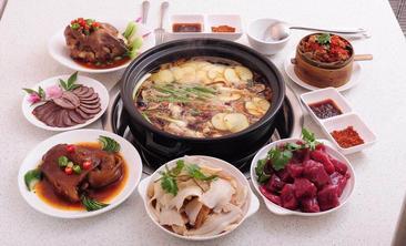 蜀皇全牛宴.菌汤鲜黄牛肉-美团