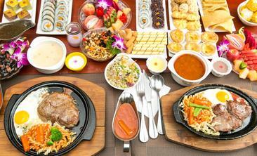 豪雅客牛排馆+自助餐吧-美团