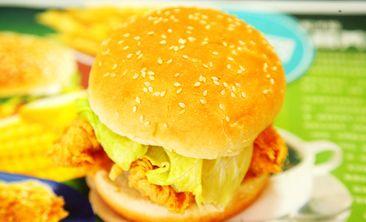 德美客炸鸡汉堡-美团