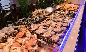 阿郎山海鲜烤肉涮锅自助美食城-美团