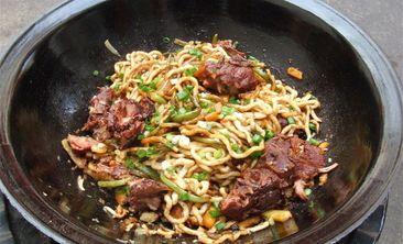 传统铁锅焖面-美团