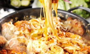 维萨德·韩国芝士炸鸡火锅-美团