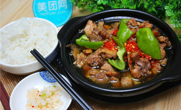 肴香居黄焖鸡米饭-美团