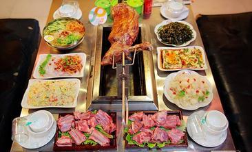 蒙古包炭烤羊腿-美团