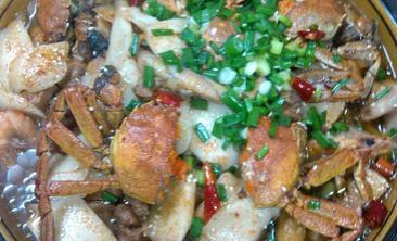 海港蟹煲-美团