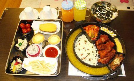 【呼和浩特韩锅安东鸡美食】韩锅安东鸡2人餐百胜中国团购会到家图片
