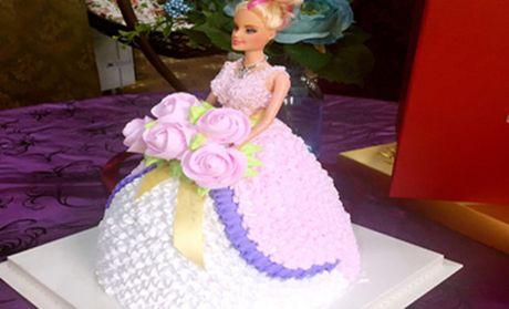 【太原欧式蛋糕团购】欧式蛋糕芭比娃娃团购|图片
