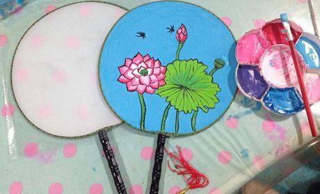 幼儿颜料创意画