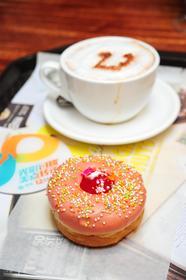 :长沙今日团购:【德思勤城市广场】DAYLIGHTDONUTS甜甜圈.咖啡仅售25元!最高价值32元的单人饮品套餐,提供免费WiFi。