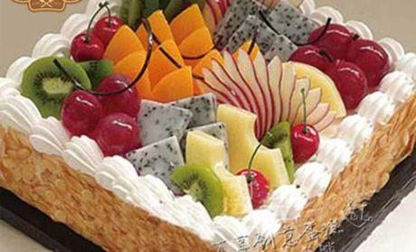 【北京万享创意蛋糕团购】万享创意蛋糕欧式水果团购