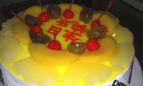【襄阳旺旺蛋糕团购】旺旺蛋糕6英寸水果巧克力蛋糕