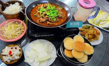 【北京老仙桃羊蝎子团购蝎子】老北京羊做法火豆腐家常菜火锅大全腊肉图片