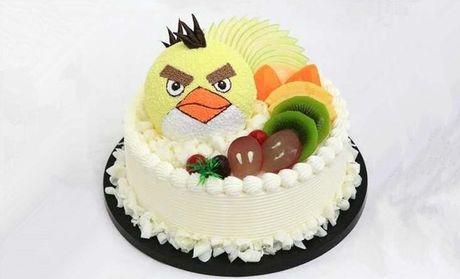 【北京旺旺蛋糕团购】旺旺蛋糕儿童主题双层卡通水果