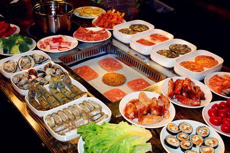 :长沙今日团购:【蓝鲸自助烤肉海鲜火锅】单人自助餐一次,提供免费WiFi