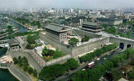 【北京西安明城墙+大雁塔北广场+钟鼓楼广场市内一】