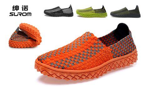 绅诺手工编织鞋1双,全国包邮 美团网北京站