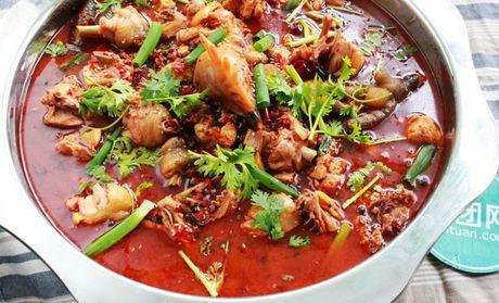 价值114元的660鱼火锅餐厅660特色火锅鸡4人套餐,提供免费wifi,美味齐