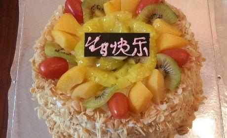 【耒阳旺旺蛋糕团购】旺旺蛋糕10英寸水果蛋糕团购