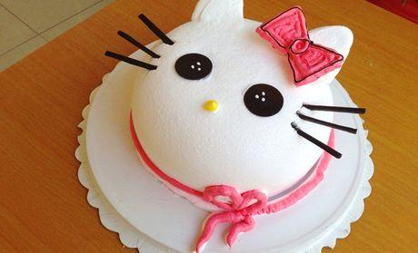 烘焙卡通蛋糕1个