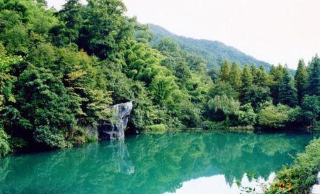杭州 山风景区地图