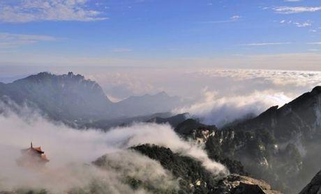 白云山景区地图
