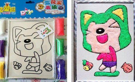 幼儿手工画画结合的作品