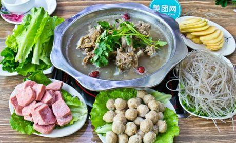 【杭州老北京羊蝎子猪肉蝎子】老北京羊火锅火团购三成熟能吃吗图片