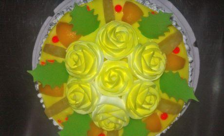 【襄阳旺旺蛋糕团购】旺旺蛋糕8英寸水果巧克力蛋糕