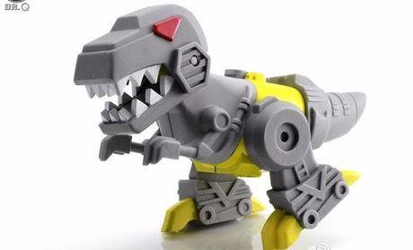 《变形金刚》q版钢索小恐龙:q版可动变形金刚钢索小恐龙babylock