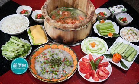 【昆明张记雅安木桶鱼团购】张记雅安木桶鱼4人餐