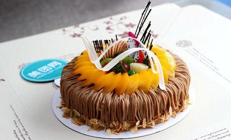 【宇乔西点怎么样】北京特色宇乔西点粟子蓉生日蛋糕图片