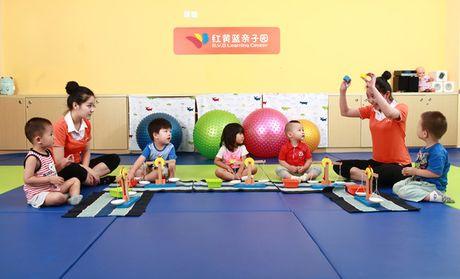红黄蓝亲子园儿童发育商测